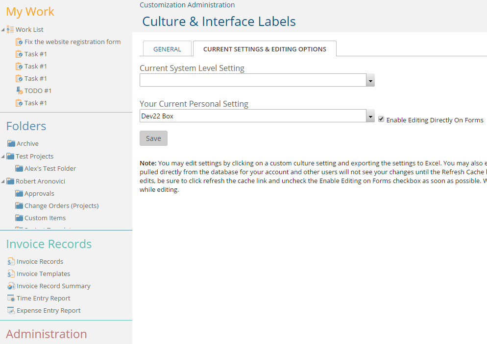 Enable Editing Directly On Forms