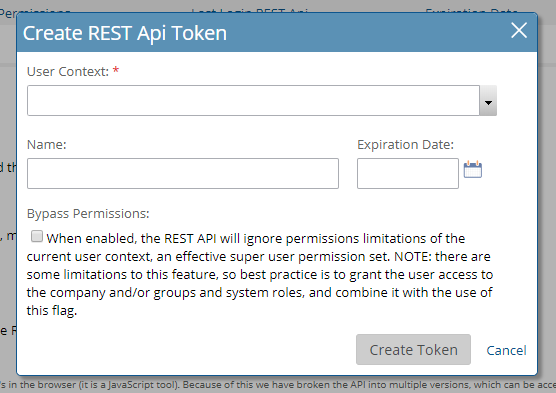 Your API Token – Project Insight Help Center