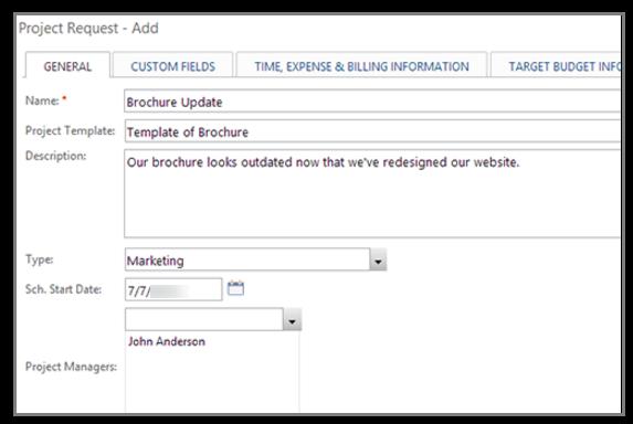 project management form templates